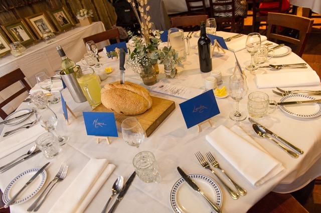 wedding table setting2