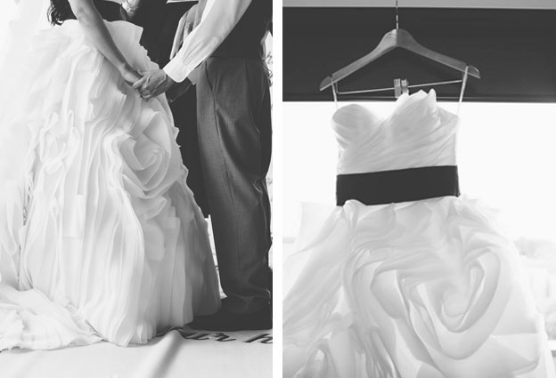 Black and White Wedding 13