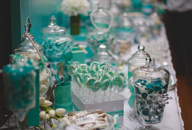 Tiffany Blue Themed Wedding 20