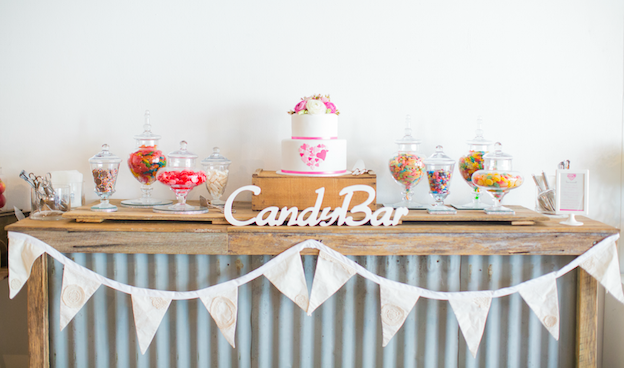 Candy Bar DIY Wedding