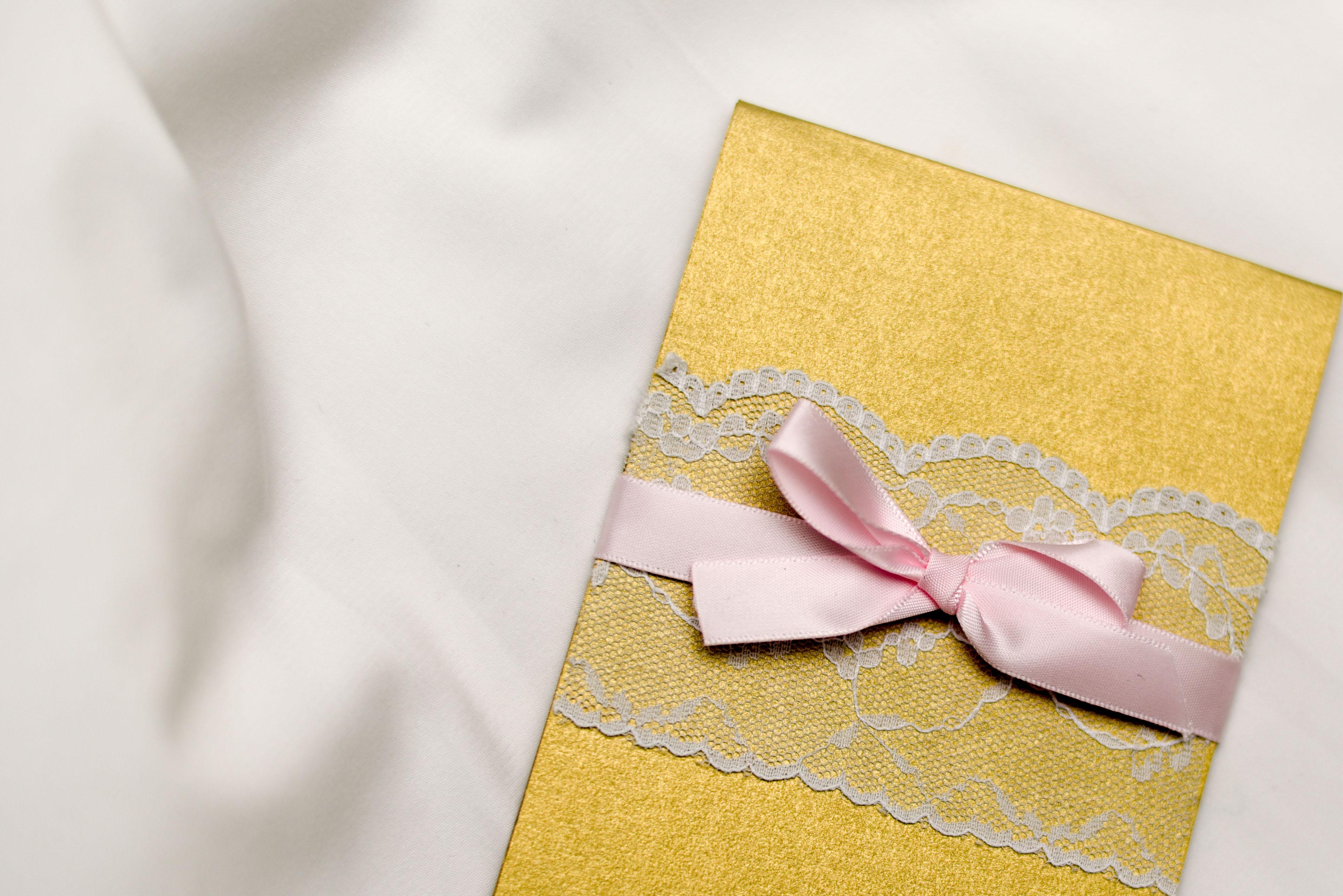 Fairytale bridal invitation