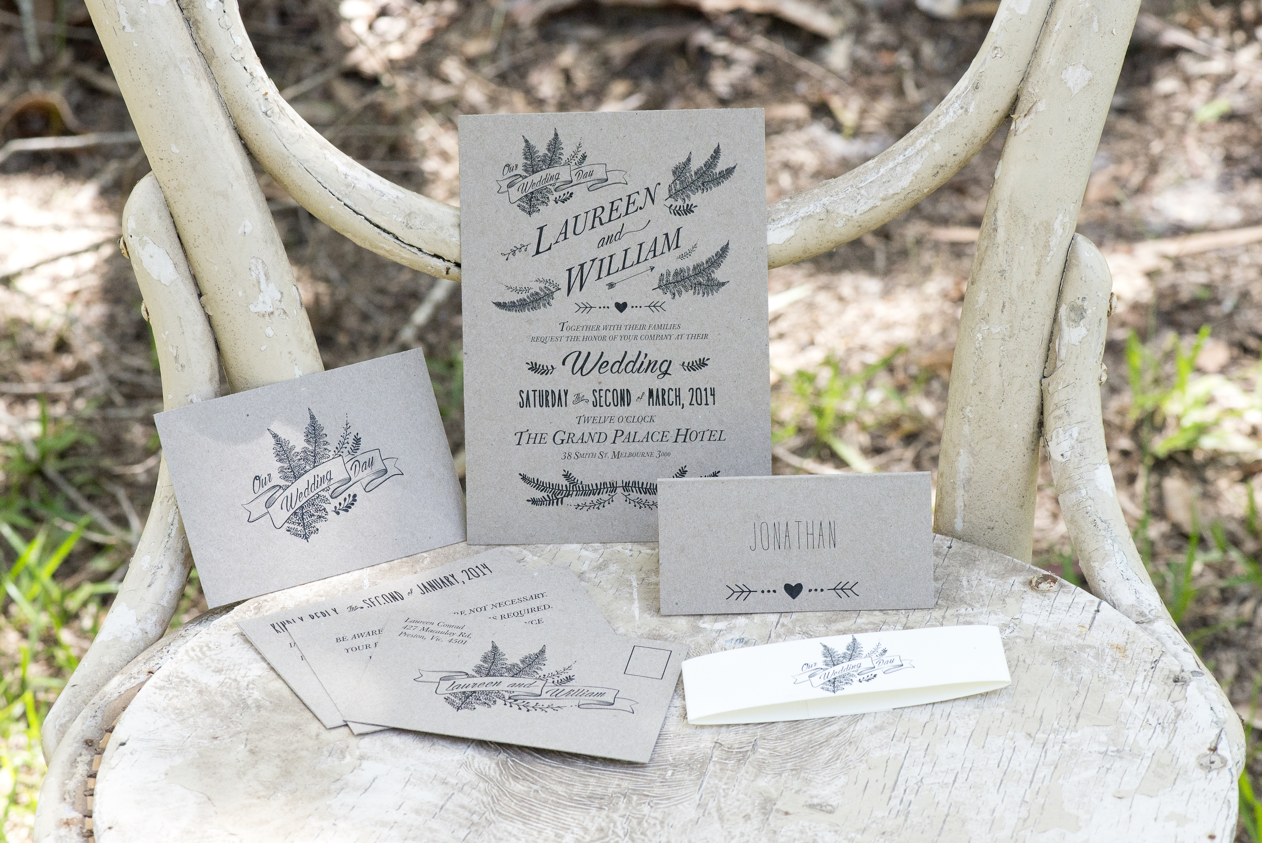 Vintage fashion inspired Invitation Ideas