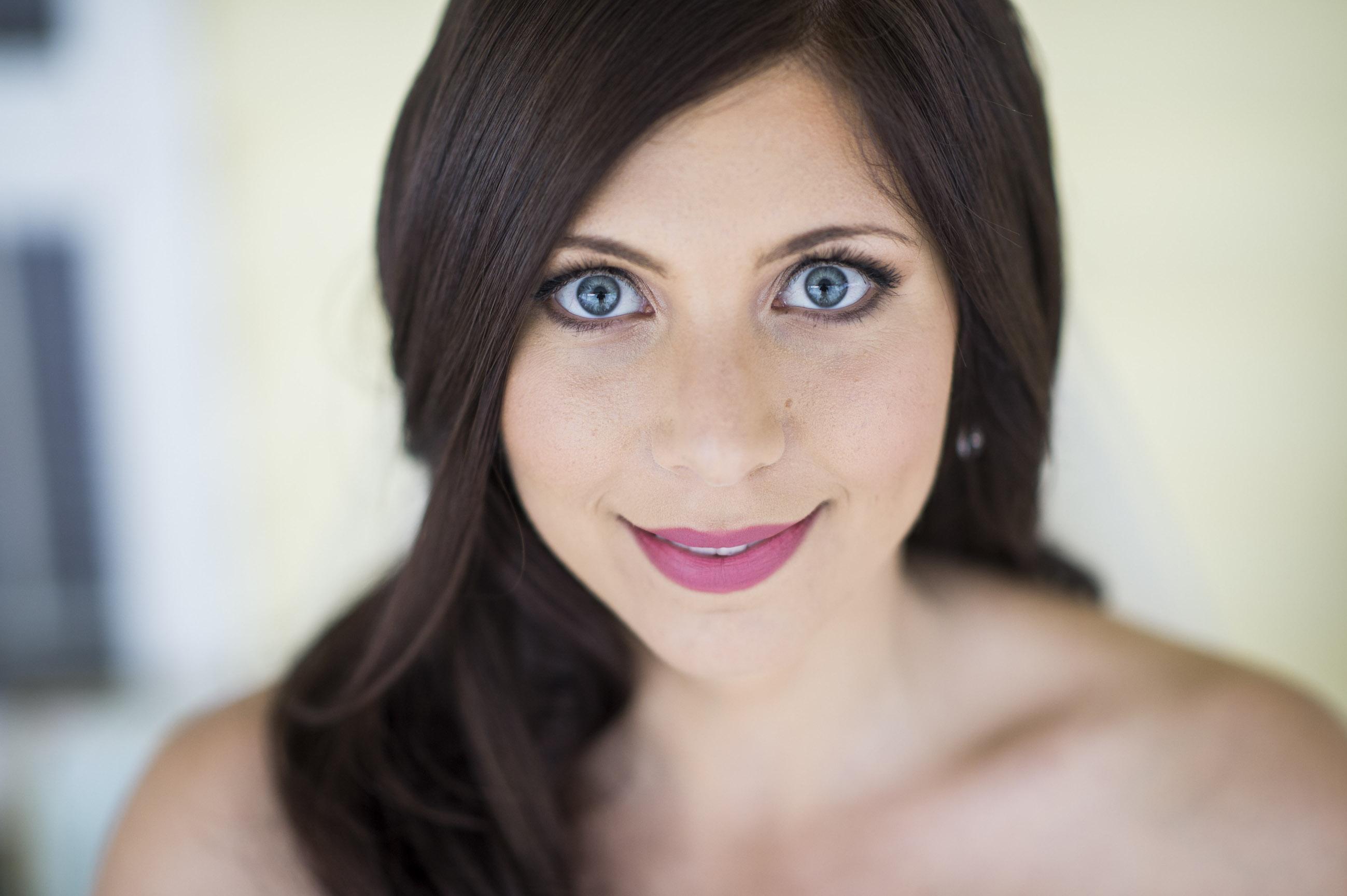 Fairytale bridal makeup